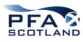Professional Footballers Association in Scotland Logo