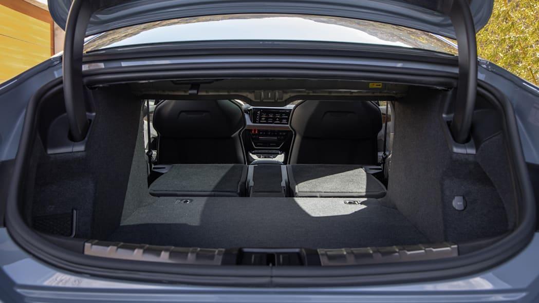 Audi E-Tron GT boot space